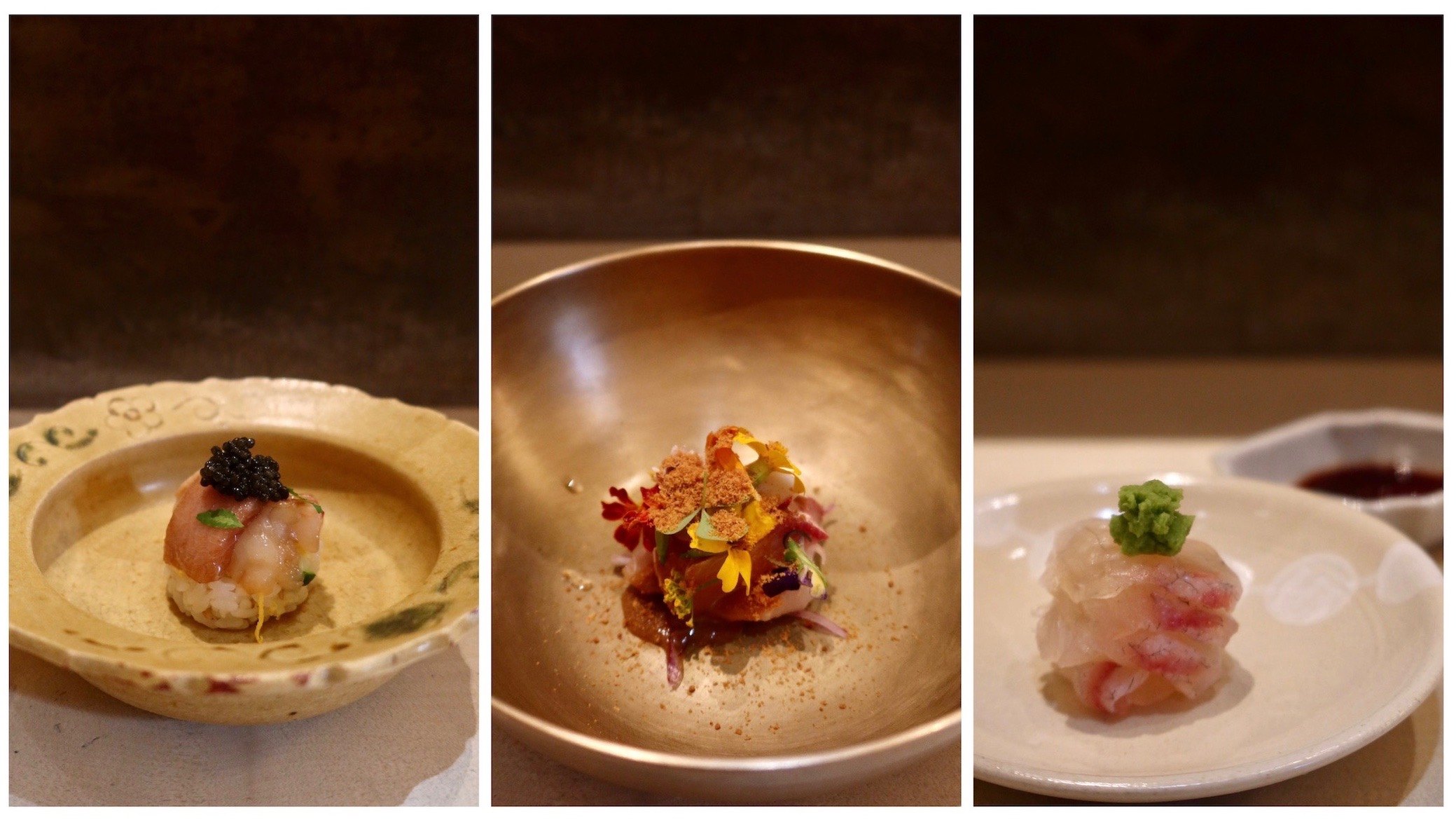 Japanische Gerichte im Shiori