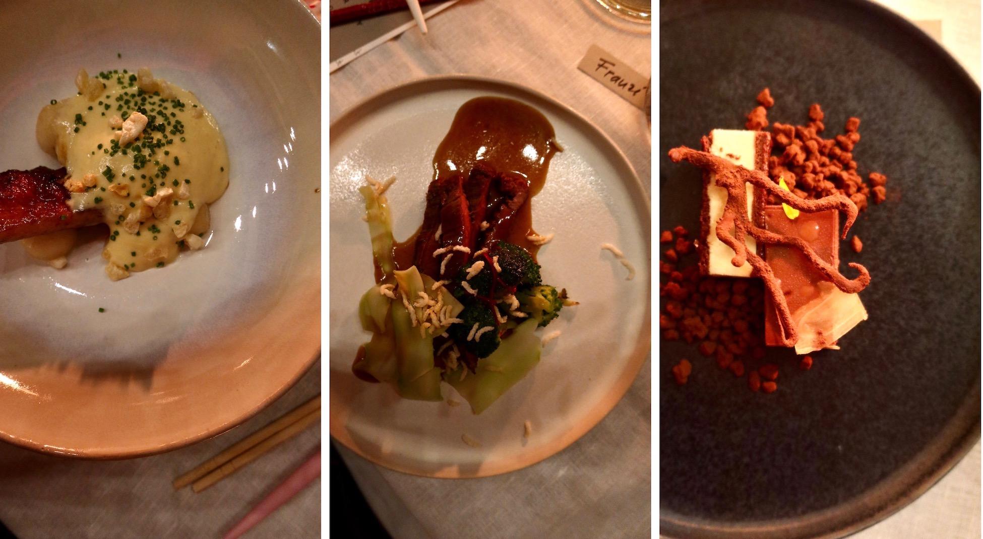 Chinesisches Essen in der Contemporary Kitchen